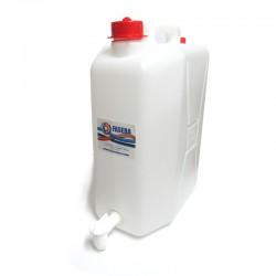 Bidón con grifo incorporado de 20 litros
