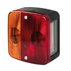 Luz trasera básica de 4 funciones de 12V