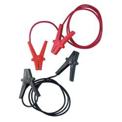 Cables de batería estándar - 250 cm - 200 A - 12.5 mm²
