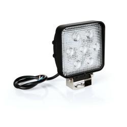 WL-3, 7 luces auxiliares Led - 10 / 30V - Blanco