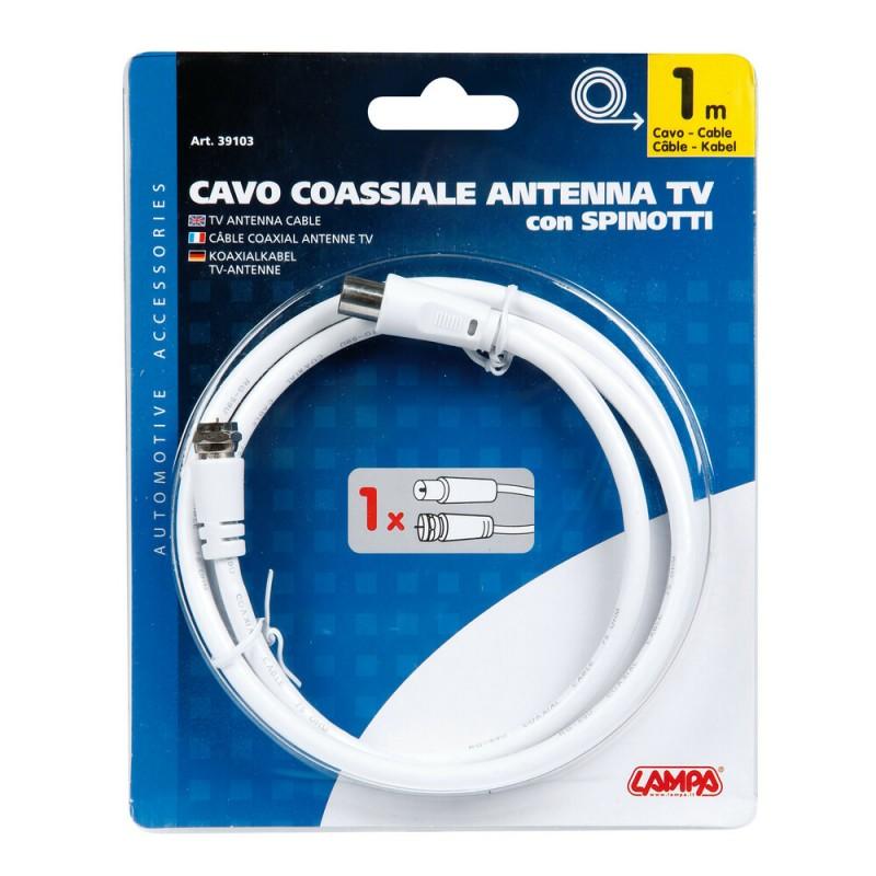 CABLE COAXIAL PARA ANTENA TV GLOBO 1...