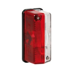 Luz de separación, 12 / 24V - Blanco / Rojo