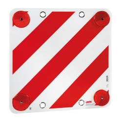 Panel de señalización de carga sobresaliente