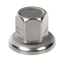 Juego de 40 tapas de pernos de acero inoxidable - Ø 33 mm