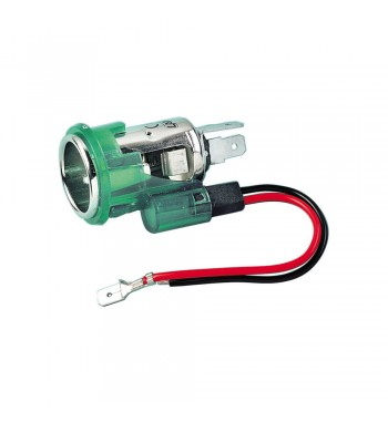 Toma mechero europeo P4 con luz 12V