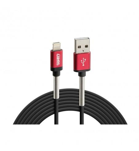 Cable universal USB y micro USB/Apple 8 pin 200 cm