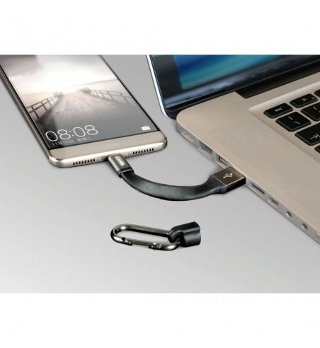 Llavero USB tipo C cable 10 cm