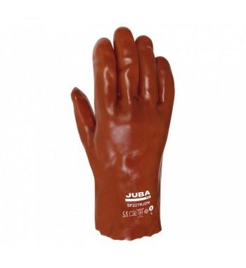 Guante JUBA PVC rojo 27 cm