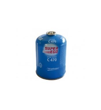 Bombona gas Super Ego C470 gr para hornillos con sistema de seguridad