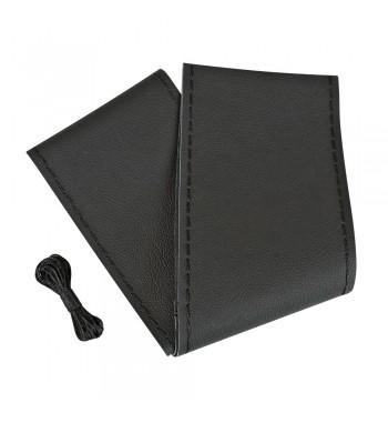 Funda volante para coser piel negro 37-39 cm