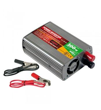 Transformador de 24V a 220V 300W con USB