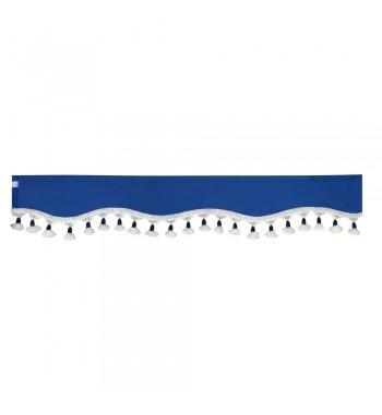 Visera parasol azul 240x18 cm