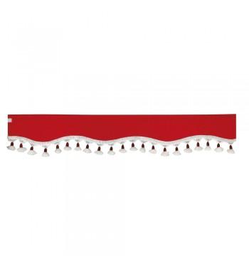 Visera parasol roja 240x18 cm