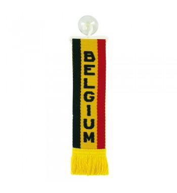 Mini banderín Bélgica