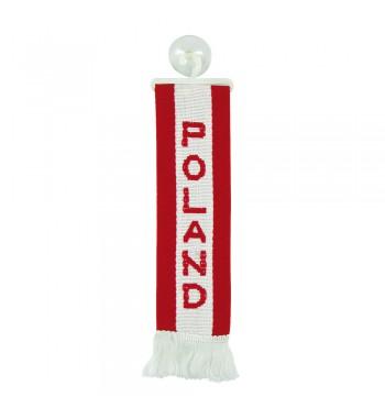 Mini banderín Polonia