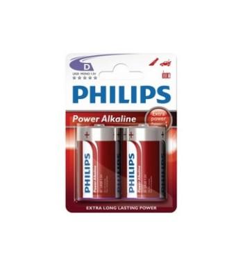 Pila alkalina Philips LR20