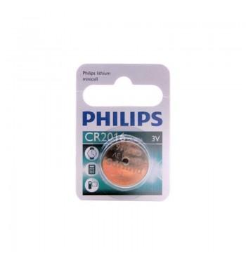 Pila botón Philips CR2016