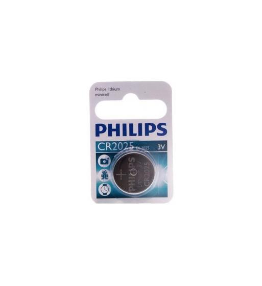 Pila botón Philips CR2025