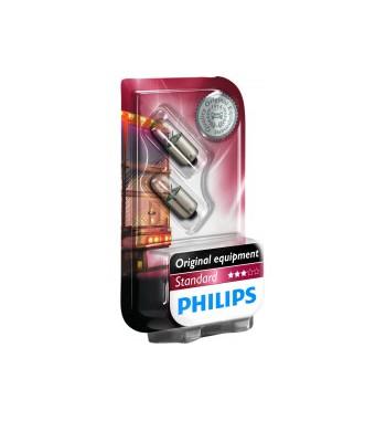 Lámpara TAW standard Philips 24V 4W BA9S