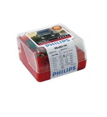 Lámpara minikit H4 masterduty Philips 24V