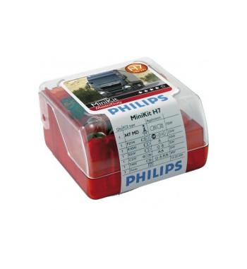 Lámpara minikit H7 masterduty Philips 24V