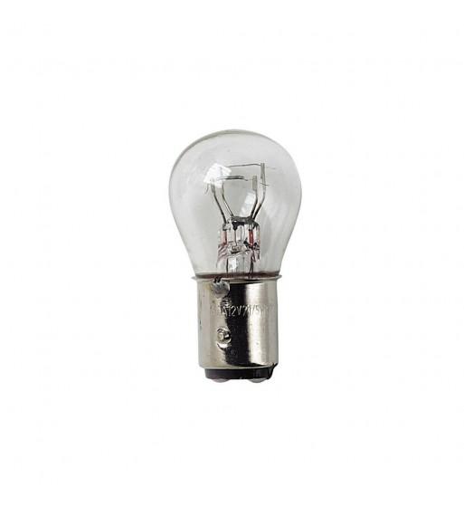 Lámpara P21/5W 2 filamentos blanco 24V 21/5W BAY15D