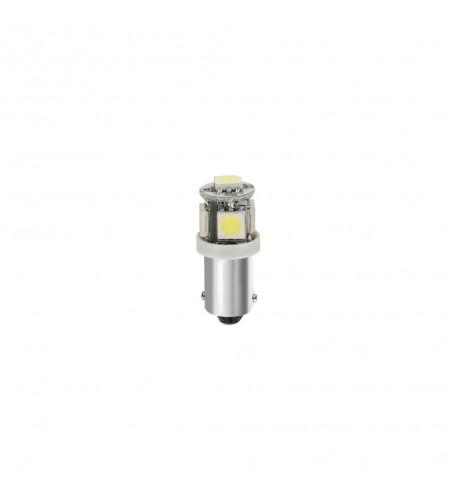 Lámpara T4W hyper led blanco 5SMD 3 chip BA95S
