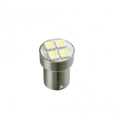 Lámpara P21W hyper led blanco 4SMS 3 chip BA15S