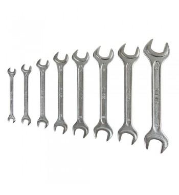 llaves fijas diferentes medidas 8 piezas