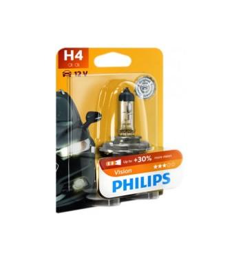 Lámpara H4 visión Philips 60/55W P43T-38