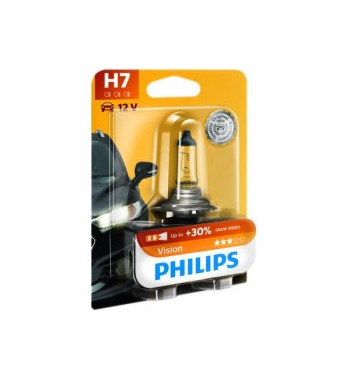 Lámpara H7 visión Philips 55W PX26D