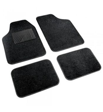 Alfombras Cosmo universal moqueta y PVC negro