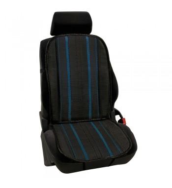 Respaldo asiento en fibra de celulosa natral azul
