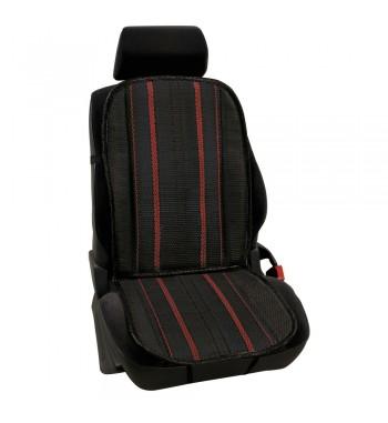 Respaldo asiento en fibra de celulosa natral rojo