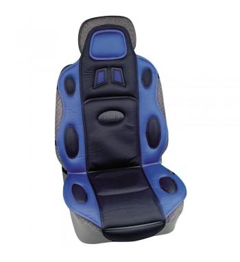 Respaldo asiento rally deportivo azul