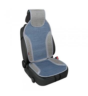 Respaldo de asiento en fibra de bambù natural azul