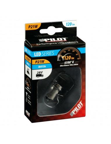 LAMPARA R5W HYPER LED 24/28V 12-12SMD...