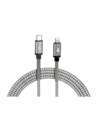 CABLE USB TIPO C+ LIGHTNING 100CM